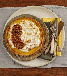 Torta de limão com merengue  Panelinha