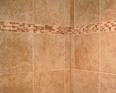 idea for our accent piece for our master bathroom #tile