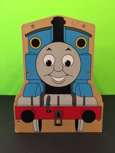 Thomas The Tank Engine Wooden Storage Carrier 12 Train Capacity 2007 Collectable | Toys & Hobbies, TV, Movie & Character Toys, Thomas the Tank Engine | eBay!