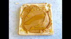 Peanut Butter & Honey on Toast : Breakfast : สูตรอาหารเช้าเนยถั่วและน้ำผ...