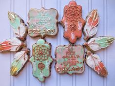 Boho Dreamcatcher Cookies | Cookie Connection