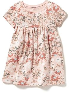 Empire A-Line Jersey Dress for Baby