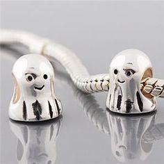 Ghost, Pandora Style Bead / Charm