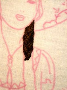 how to embroider braids