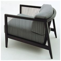 ASTORIA LOUNGE CHAIR Designed by Franco Bizzozzero Manufactured by Bonacina Pierantonio #LoungeChair