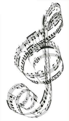 Clip Art of A Treble Clef made from Beethoven& piano music . Piano Music, My Music, Piano Art, Music Tree, Hippie Music, Music Pics, Music Pictures, Music Notes Art, Music Wall Art