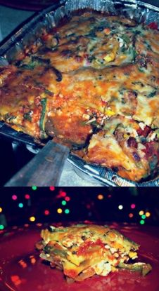 No Noodle Lasagna! Low Carb #holiday treat!