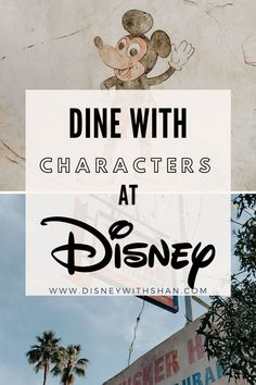 Do you and your family want to have the opportunity to dine with your favorite Disney characters on your vacation? Book these top 5 restaurants to see the 'fab 5', princesses, and more!  Disney dining | Dine with Mickey  #disney #disneyworld #disneyvacation