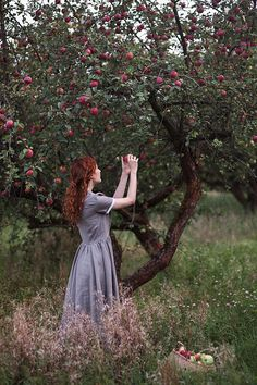 New apple tree aesthetic Ideas Fantasy Photography, Portrait Photography, Tree Photography, Story Inspiration, Character Inspiration, Lifestyle Fotografie, Le Jolie, Pre Raphaelite, Anne Of Green Gables