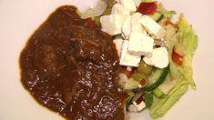 Gulasch mit Bauernsalat - So sieht's aus. - Kabeleins