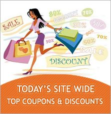 Coupons2redeem update daily site wide coupons & discounts.  Feel free to use this site wide coupons just by clicking our latest products from different categories with top merchants offered exclusively for you.
