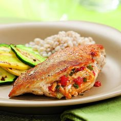 Chicken Breasts Stuffed with Pimiento Cheese Recipe - EatingWell.com