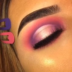 Pink Purple Eyeshadow Cut Crease Eye Look Tutorial - 20 makeup Eyeshadow videos ideas Makeup Eye Looks, Eye Makeup Steps, Smokey Eye Makeup, Eye Makeup Art, Purple Makeup Looks, Cute Eye Makeup, Purple Eye Makeup, Smoky Eye, Gorgeous Makeup