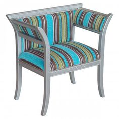 Beautiful and striking stripy chair! Want this one?