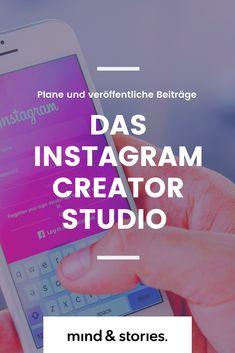 Endlich kannst du mit dem Instagram Creator Studio auch vom Desktop aus arbeiten. Instagram Feed, Instagram Hacks, Instagram Creator, Social Media Trends, Social Media Marketing, Online Marketing, Creator Studio, The Creator, Influencer