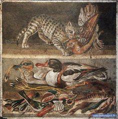 La mosaïque romaine | Bella Napoli, découvrir et visiter Naples et la Campanie