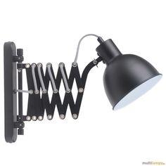 Spot-Light Talaro kinkiet 1-punktowy czarny 8410104 - Multilampy.pl