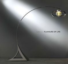 Collection Flavours of Life  by Francisco Montoya and Lorenzo Ammannati  REGINA  Lampada da terra arcuata il suo disco volante è la fonte di luce la sfera in cristallo il diffusore.   An arched floor lamp its flying saucer is the light source and the crystal ball the  shade  #interiordesign #design #homedecor #home #details #homemade#madeinitaly #HomeDecor #luxury #lfitaly  www.lfitaly.com  http://ift.tt/1ZzgOvd http://ift.tt/1Suk4GZ
