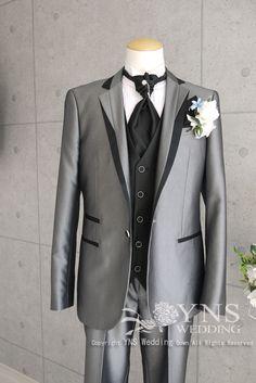 グレー系 BYPH973(スリムL) Tuxedo, Mens Suits, Groom, Suit Jacket, Mens Fashion, Blazer, Weddings, Wedding Dresses, Coat