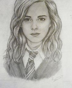 Hermione Granger/ Emma Watson Original by DrawingsByChristina, $20.00