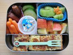 Als Alternative zum Brot: Frühstücks-Box mit French Toast/ Arme Ritter