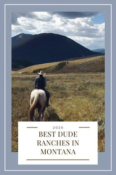 Montana Dude Ranches - Montana - The Dude Ranchers' Association Dude Ranch Vacations, All Inclusive Trips, Montana Ranch, Horse Riding Tips, Big Sky Country, Happy Trails, Us National Parks, Yellowstone National Park, Wyoming