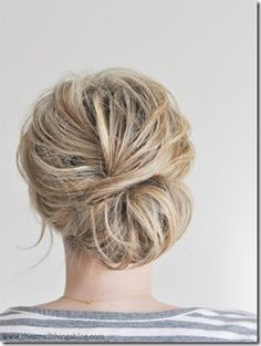 bridemaid hair, or even a cute simple bride hair