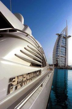 Burj Al Arab & Yacht