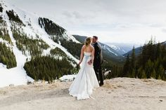 Colorado Loveland Pass Wedding 40