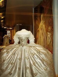 Catherine the Great's coronation dress.