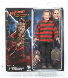 NECA NIGHTMARE ON ELM STREET PART 2 FREDDYS REVENGE - 8 CLOTHED FREDDY ACTION FIGURE