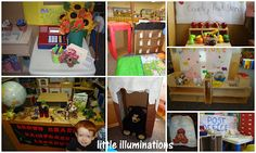 20 dramatic play centers