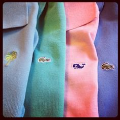 Throw some Ralph Lauren, Brooks Brothers, J Press, J Crew, American Eagle, and Castaway in there and you're set with a #PreppyWardrobe