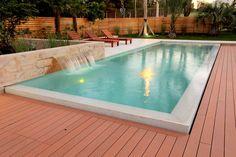 Outdoor Pool, Outdoor Decor, Intex Pool, Modern Pools, Indoor, Interior Design, Wood, House, Home Decor