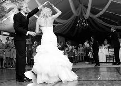 Dancing in the Reception tent at Black Hills Receptions