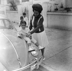 Meu irmão no Fusca 62: Vila Mariana - 1963 | Flickr - Photo Sharing!