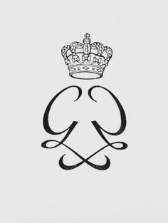 personal monogram of Princess Grace of Monaco