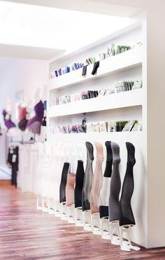 holger jahns: hacke und spitze retail store for dancing gear