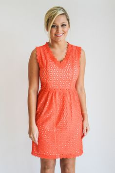 coral lace dress – gallery. boutique