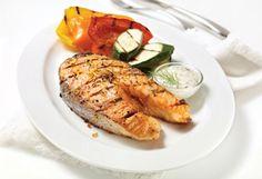 Recette de darnes de #saumon et mayonnaise aux herbes. #grillades #BBQ