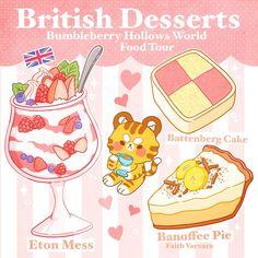Cute Food Drawings, Cute Kawaii Drawings, Kawaii Art, Menu Illustration, Food Illustrations, Cute Food Art, Cute Art, Kawaii Stickers, Cute Stickers