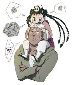 Scar and Mei by buruburuburu