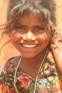 Girl in Hospet, India... www.healcharity.org... sponsor a child in India