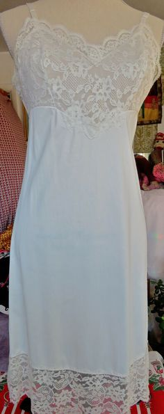 SHINY IVORY SATIN NATURAL LACE CAMIKNICKER TEDDIE  XS to XXL MADE IN FRANCE