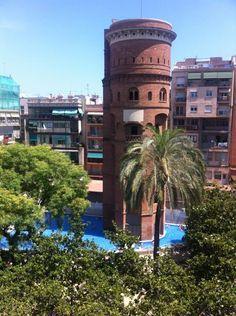 Jardins de la Torre de les Aigües - La Dreta de l'Eixample - Barcelona, Cataluña