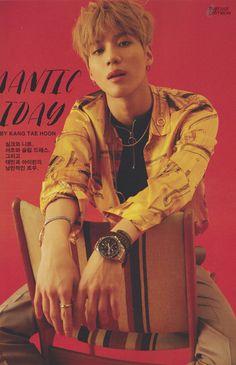 160321 Taemin - GQ Korea Magazine April Issue