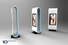 Bespoke digital signage solutions for every application from with a choice of media players. Kiosk Design, Signage Design, Retail Design, Banner Design, Digital Signage Displays, Digital Signage Solutions, Digital Kiosk, Digital Retail, Point Of Sale