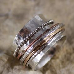 spinner ring by CharmedLifeDesigns $52