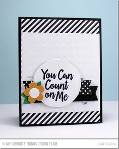 You Can Count On Me! {CTD356}