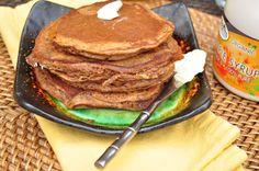 Gingerbread Pancakes (gf)